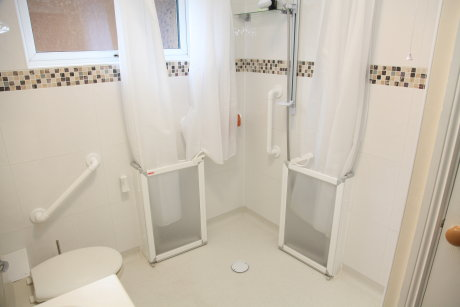 disabled wetroom adaptation