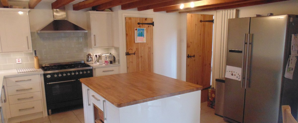 Flooring Repair Works & Kitchen Installation